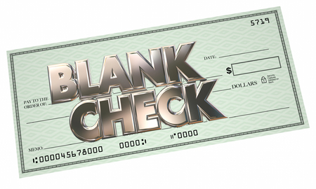 earn money: Blank Check 3d Words Money Free Opportunity Make Earn Income Stock Photo