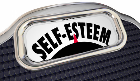 esteem: Self Esteem Confidence Assured Attitude Scale Words