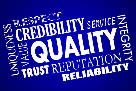 respectability: Quality Reputation Value Respect Competitive Advantage Word Collage