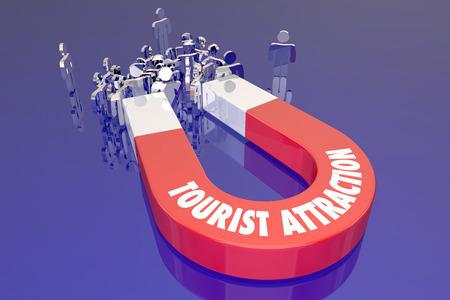 familia animada: Tourist Attraction Travel Destination Recreation Trip Holiday Magnet Words