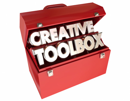 able to learn: Creative Toolbox Imagination Ideas Inspiration 3d Words