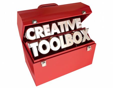 skillset: Creative Toolbox Imagination Ideas Inspiration 3d Words