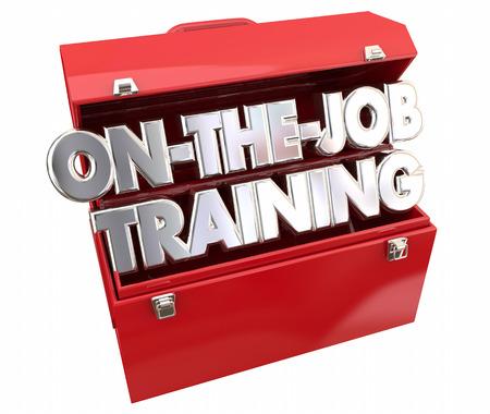 skillset: On the Job Training Tools Toolbox Learning Career Apprentice