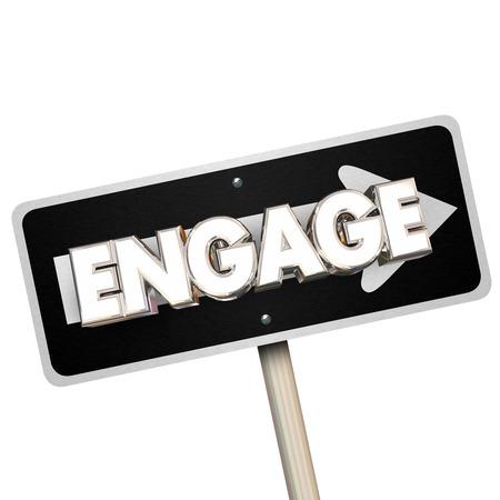 단방향 화살표 도로 거리 서명 방법 전달 Word 3D 그림을 Engage