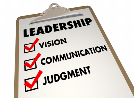 persuasive: Leadership Steps Method Process Clipboard Checklist 3d Illustration