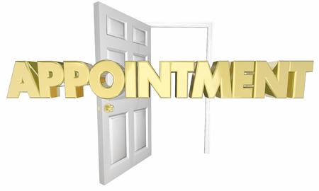 abriendo puerta: Designaci�n sesi�n de apertura de la puerta Palabra Ilustraci�n 3d