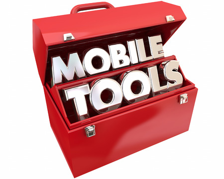 connectivity: Mobile Tools Mobility Connectivity Online Devices Words 3d Illustration