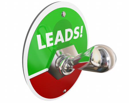 Leads Sales Prospects Customers Switch 3d Illustration