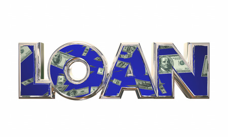 borrow: Loan Borrow Money Cash Apply Mortgage Financing 3d Illustration
