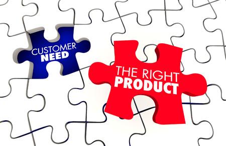 顧客必要があります最高の適切な製品 3 d イラストのパズル