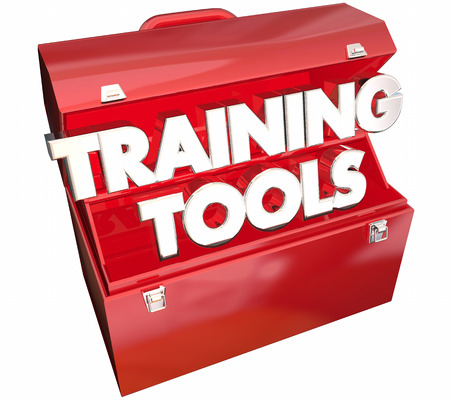Training Tools Toolbox Learning Education Course 3d Illustration Stock Photo