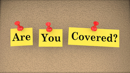 Are You Covered Insurance Risk Gap Policy Question 3d Illustration