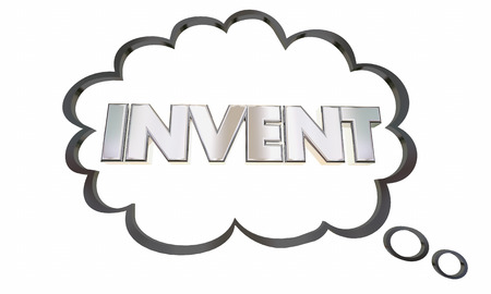 conceive: Invent New Product Idea Business Innovation 3d Illustration