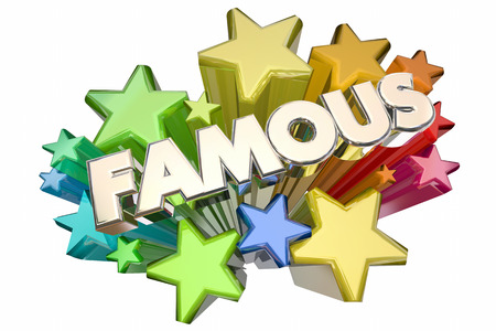 Famous Celebrity Fame Stars VIP Event 3d Illustration Stock Photo