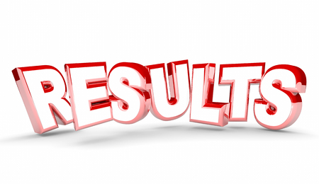 succeeding: Results Outcome End Return on Investment Word 3d Illustration