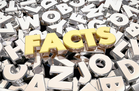 proving: Facts Truth Verified Information Letters Word 3d Animation