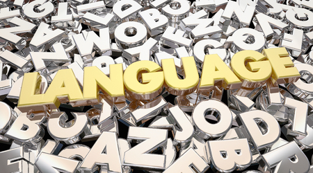 bilingual: Language Word Letters Communication Share Ideas 3d Animation
