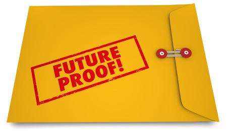 lasting: Future Proof Envelope Stamp Lasting Product Plans 3d Illustration