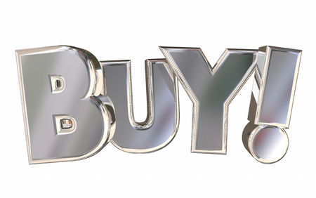 Buy Letters Rising Word Customer Shopping 3d Illustration Banco de Imagens
