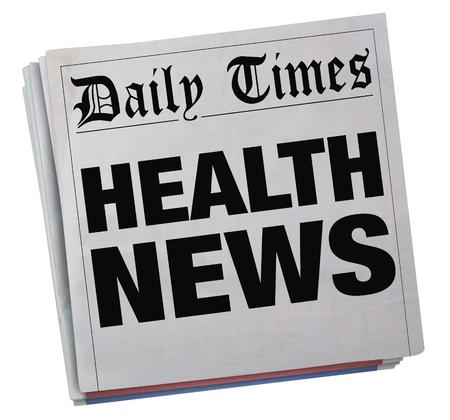 Noticias de la salud Foto de archivo - 78287404