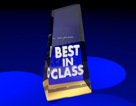 Best in Class Award Top Category Prize 3d Illustration