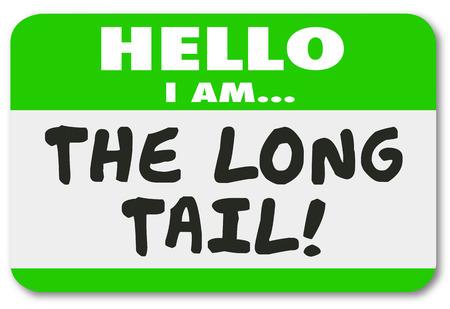 結果図を実行時間の長いロングテール名前タグ ステッカー持続