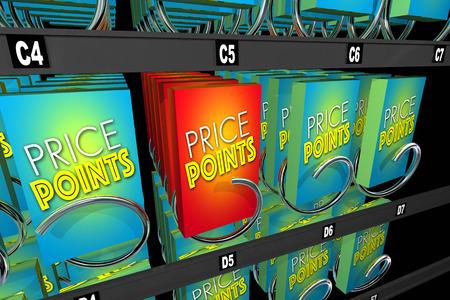 ショッピング比較自動販売機購入価格ポイント製品マシン 3 d イラストレーション 写真素材
