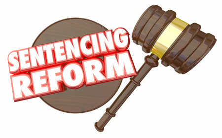 Sentencing Reform Judge Justice Fair Gavel 3d Illustration