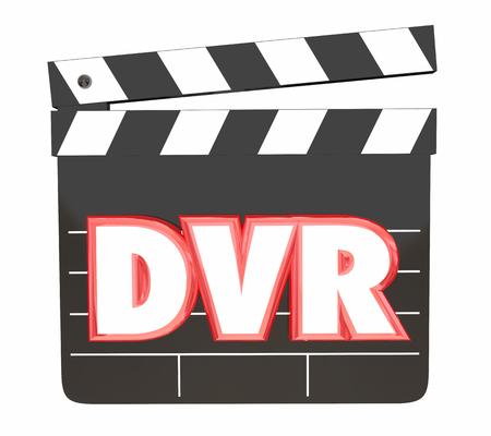 DVR Digitale videorecorder Save Movies Program bekijk 3D-afbeelding