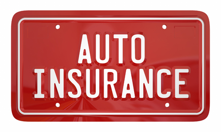 Auto Insurance Car Vehicle Coverage Policy 3d Illustration