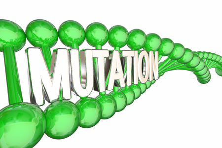 Mutation Genes DNA Genetic Change 3d Illustration