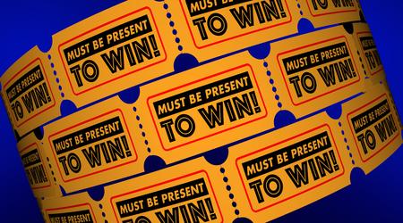 경연 대회 규칙 티켓 3D 그림을 이기기 위해 반드시 존재해야 함 스톡 콘텐츠