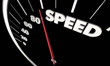 速度高速加速スピード メーター測定結果の 3 d 図