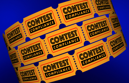 Contest Compliance Law Regulations Tickets 3d Illustration Stock Photo