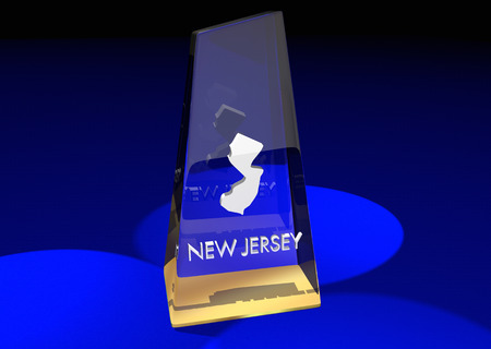 honored: New Jersey NJ State Award Best Top Prize 3d Illustration