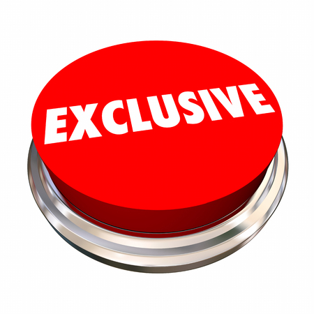 Exclusive Special Offer Announcement News 3d Illustration