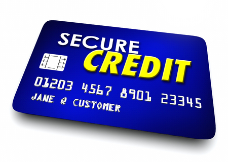 Secure Credit Card Account Safe Security 3d Illustration