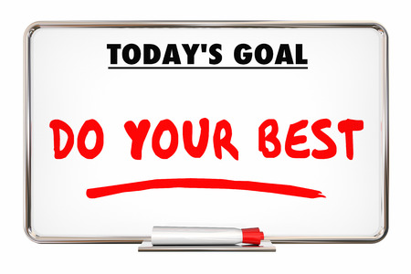 accomplish: Do Your Best Daily Goal Mission Board 3d Animation.mov