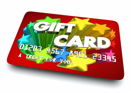 Gift Card Special Present Certificate 3d Illustration