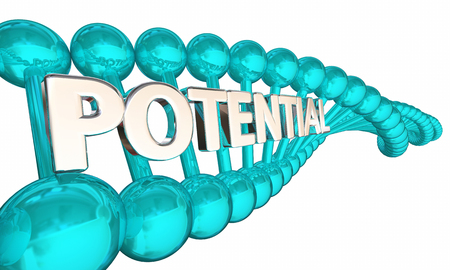 Potential DNA Biological Research Opportunity Possibility 3d Illustration