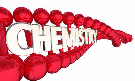 Chemistry DNA Chemical Compounds Molecules 3d Illustration Stock Photo