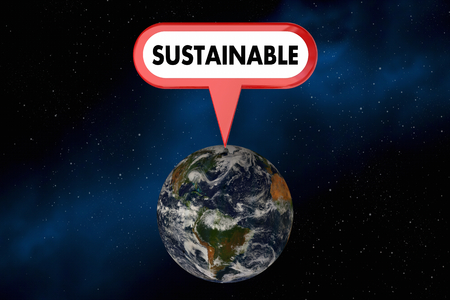Sustainable Earth Planet Natural Resources Environment 3d Illustration