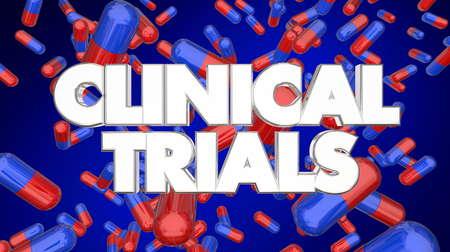 Clinical Trials Pills Medicine Test Medical Research 3d Illustration Stock Photo