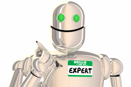 Expert Robot Hello I Am An Experienced Professional 3d Illustration