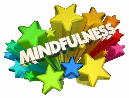 Mindfulness Stars Clear Thinking Thought Process 3d Illustration