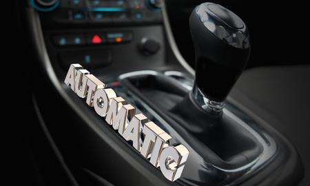 Automatic Gear Shift Transmission Car Automobile 3d Illustration