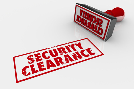 Security Clearance Approved Stamp 3d Illustration Stock Photo