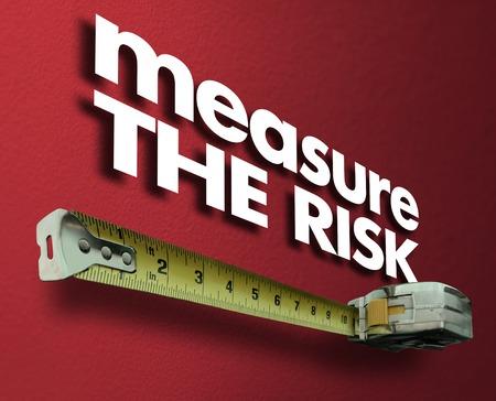 Measure the Risk Measuring Tape Liability Impact 3d Illustration