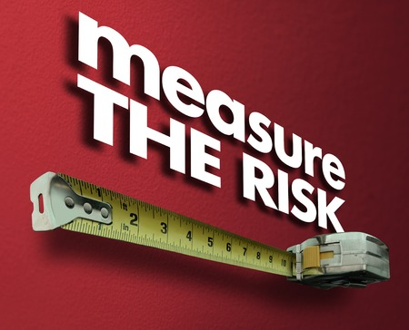 Measure the Risk Measuring Tape Liability Impact 3d Illustration