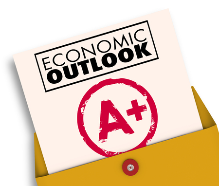 Economic Outlook Report Card A Plus Great Economy News Forecast